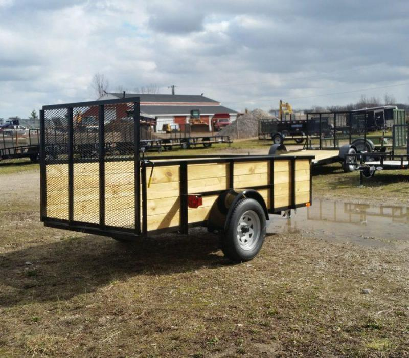 5 x 10 A.M.O. High Side Landscape Trailer (RED)