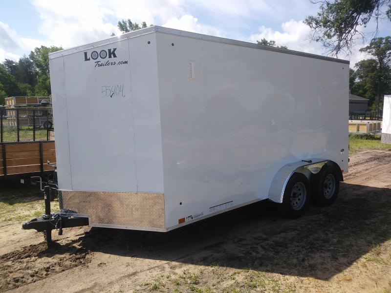 2020 Look Trailers 7X14 DLX Enclosed Cargo Trailer
