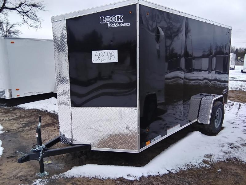 2020 Look Trailers 6 X 12 Enclosed Cargo Trailer