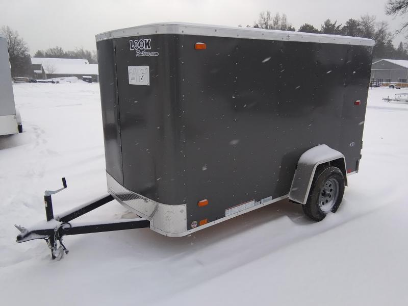 2020 Look Trailers 5 X 10 Enclosed Cargo Trailer