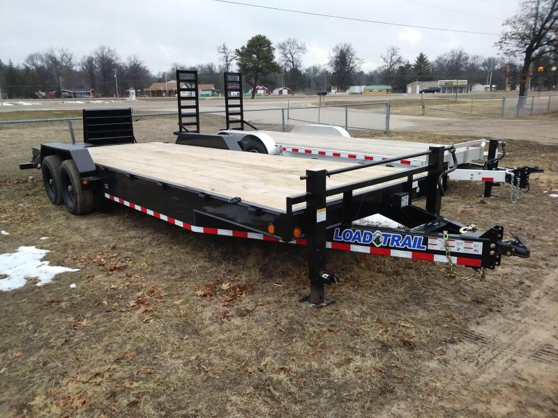 "2018 Load Trail 24' x 83"" Equipment Trailer 14K"