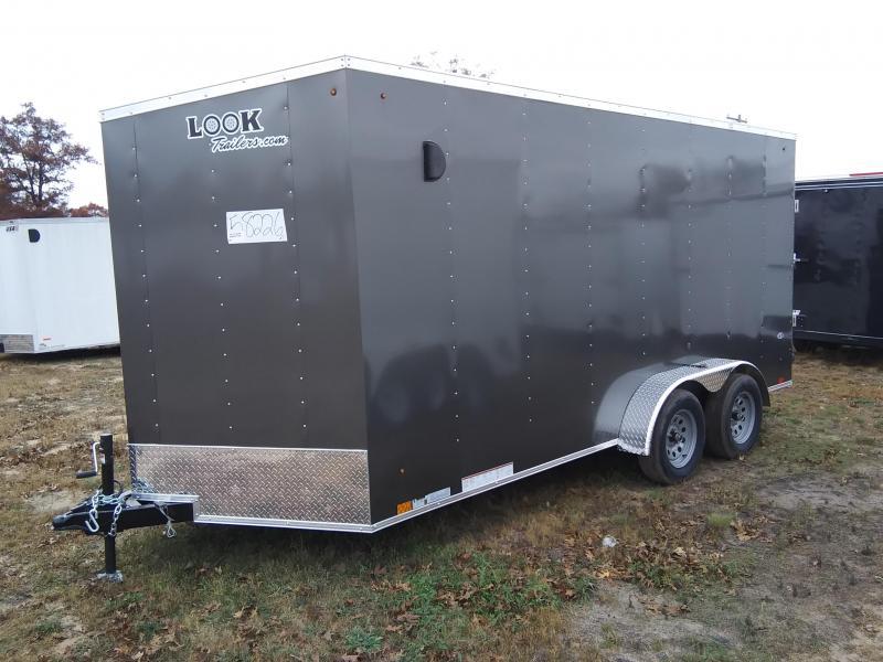 2020 Look Trailers 7 X 16 Enclosed Cargo/ATV Trailer