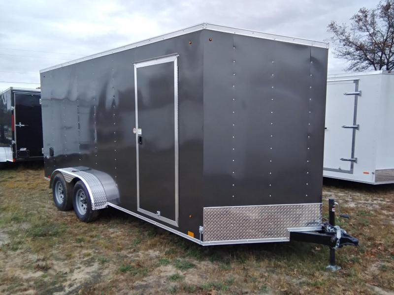 2020 Look Trailers 7 X 16 Enclosed Cargo/ATV Trailer