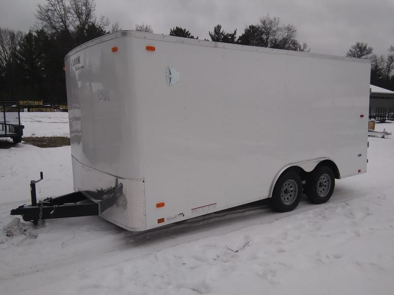 2020 Look Trailers 8.5 X 16 Enclosed Cargo Trailer