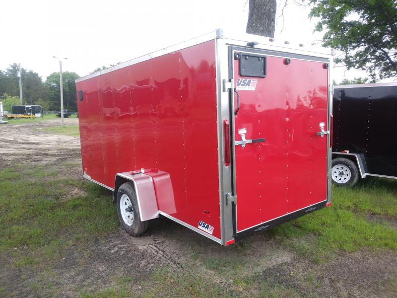 2019 MTI Trailers 6X14 Enclosed Cargo Trailer