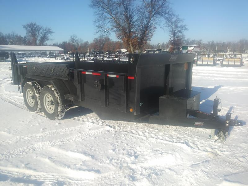 "2019 Forest River Inc. Dump Trailer 6'8""x14 14K"
