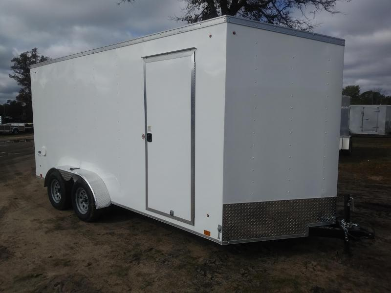 2020 Look Trailers 7 X 16 Enclosed UTV/Cargo Trailer