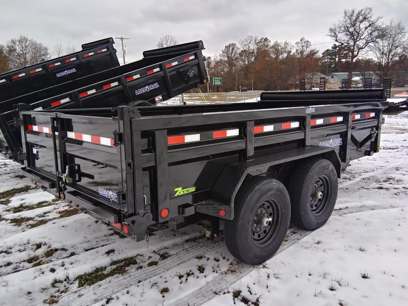 2020 Load Trail 83 x 14 14K Dump Trailer W/7 gauge floor