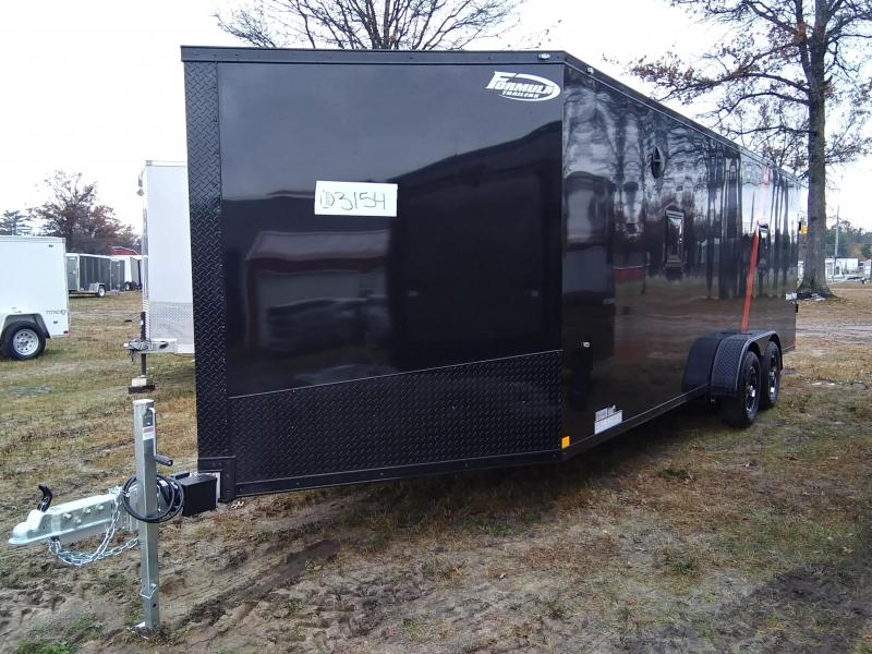 2020 Formula Trailers 7 x 27 Snowmobile Trailer 4 Place