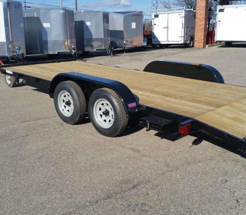 20' A.M.O. Car Hauler Trailer TA2