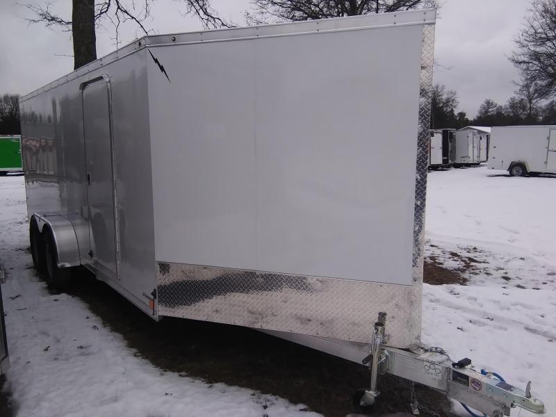 2020 Forest River, Inc. 7 X 23, 3 place Snowmobile Trailer