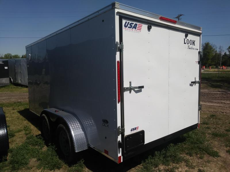 2019 Look Trailers 7X14 Cargo Deluxe / Enclosed Trailer