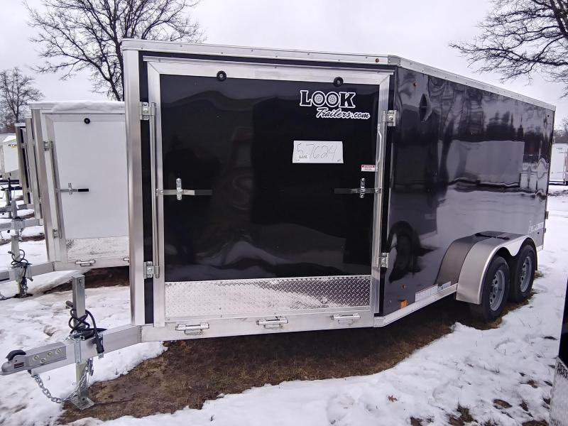 2020 Look Trailers 7 X 19, 2 place Snowmobile Trailer