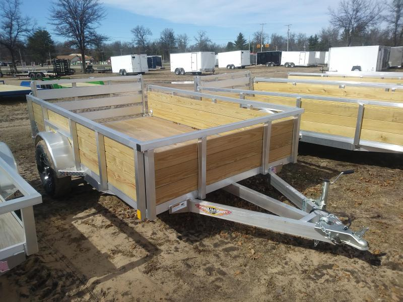 2019 H and H Trailer 6 X 10 WOOD-SIDE ALUM 3K