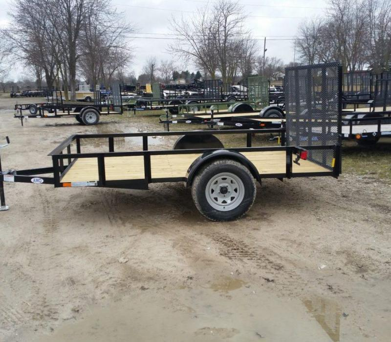 6.5 x 10 A.M.O. Low Side Landscape Trailer