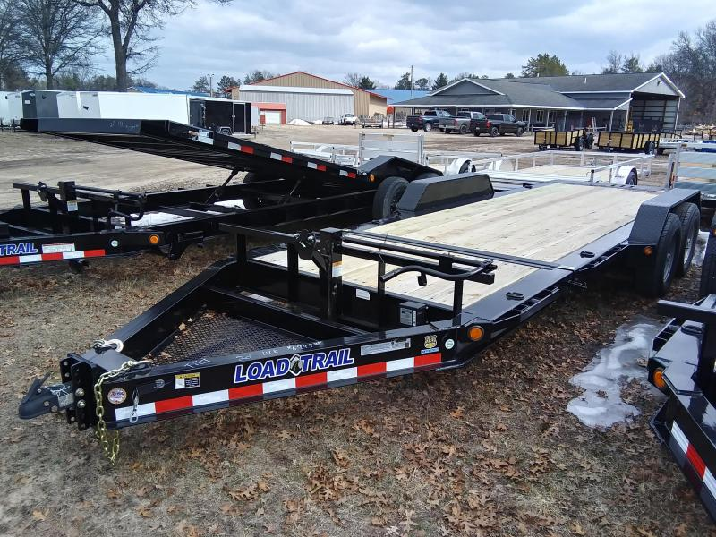 2019 Load Trail 20' 14K Tilt Deck Equipment Trailer