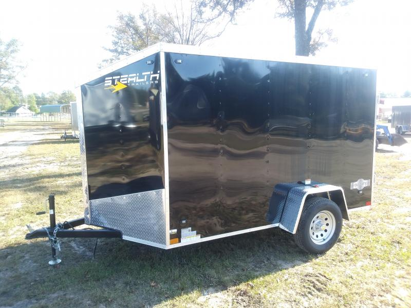 2020 Stealth Trailers 6X10 Enclosed Cargo Trailer