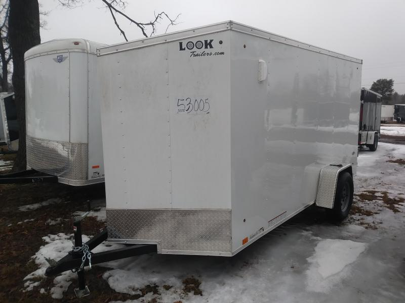 2019 Look Trailers 6x12 Deluxe Cargo / Enclosed Trailer