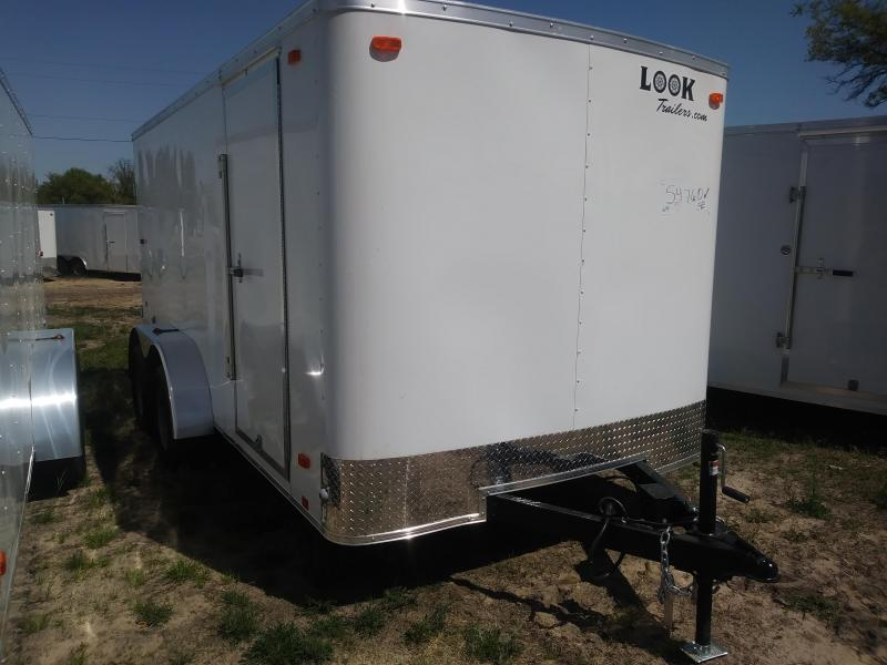 2019 Look Trailers 7X14 Cargo / Enclosed Trailer