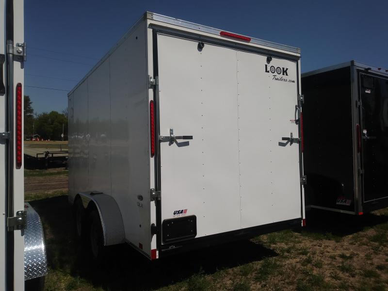 2020 Look Trailers 7X14 Deluxe Cargo / Enclosed Trailer