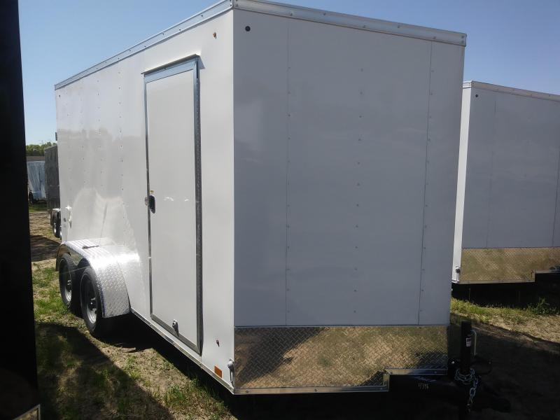 2020 Look Trailers 7X14 Deluxe Cargo / Enclosed Trailer