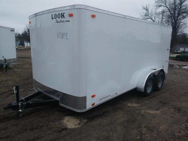 2020 Look Trailers 7 X 16 Enclosed Cargo Trailer