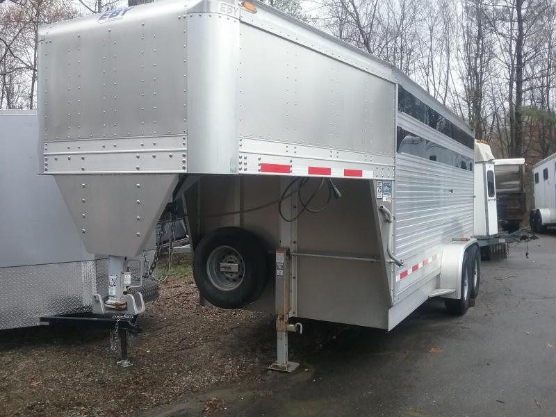 2014 EBY Maverick GN Stock Horse Trailer