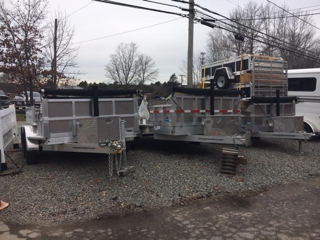 2019 CargoPro Trailers Aluminum Dump Trailers Dump Trailer