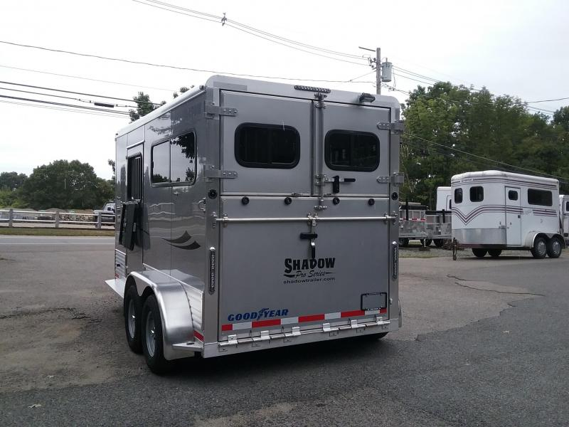 2019 Shadow Trailers 2h Thorobred Horse Trailer