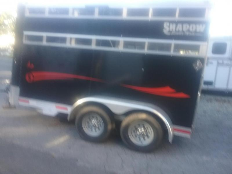 2016 Shadow Trailers 2h Stock Combo Horse Trailer