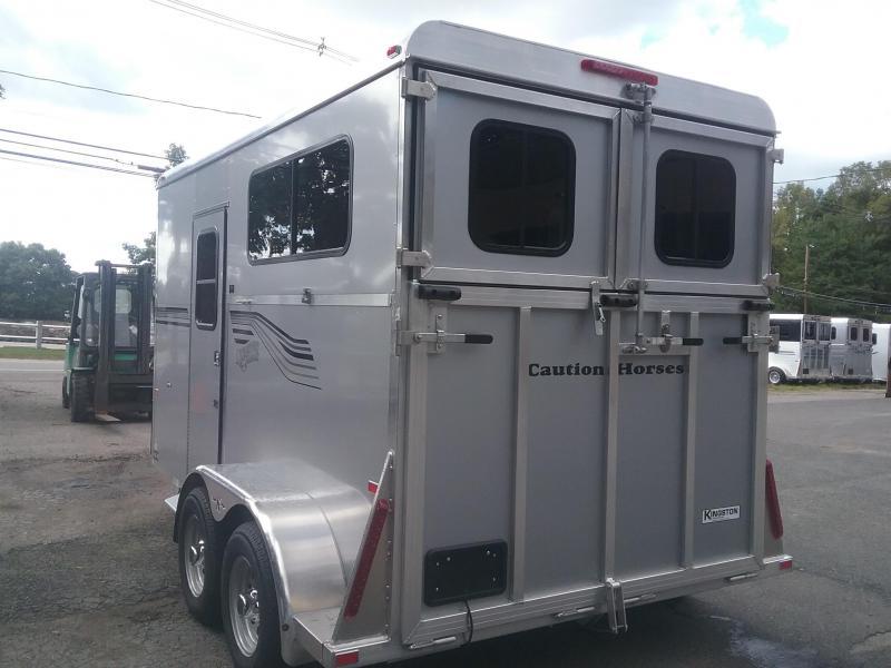 2020 Kingston Trailers Inc. 2h Endurance D/Room Horse Trailer