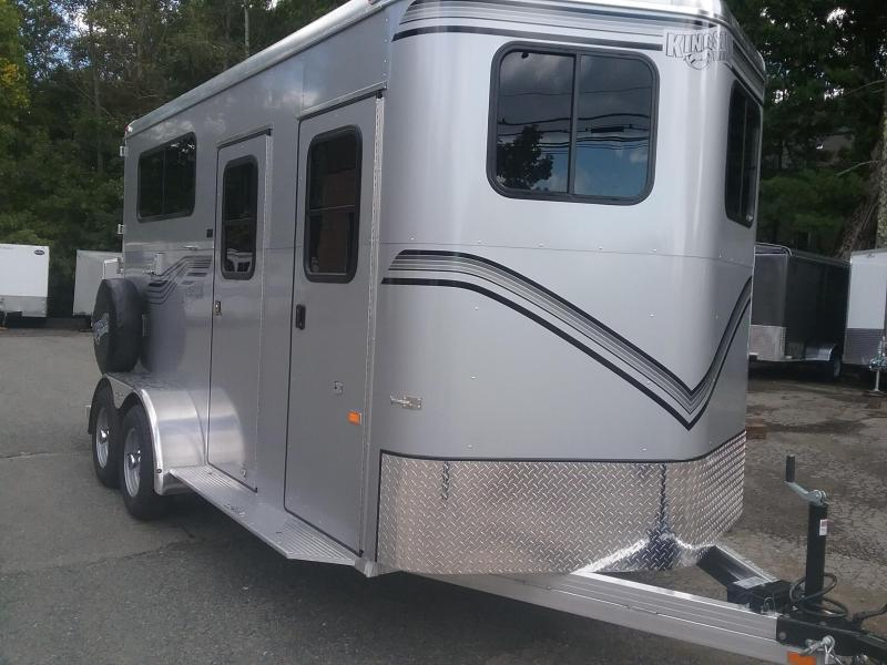 2020 Kingston Trailers Inc. 2h Endurance D/Room Horse Trailer