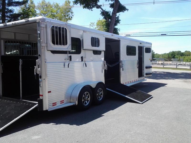 2019 Sundowner Trailers 4H Head To Head Horse Trailer