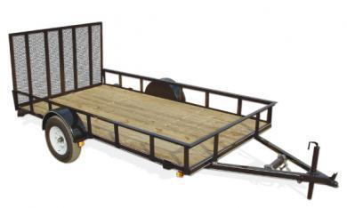 2019  Bri-Mar  6x12  Utility Trailer