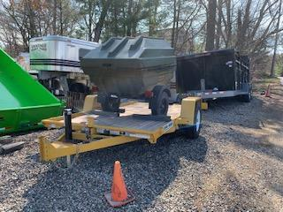 2018 Bri-Mar T-712-6 Tilt Equipment Trailer