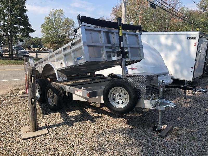 2020 CargoPro Trailers 6x12x10k  Dump Trailer