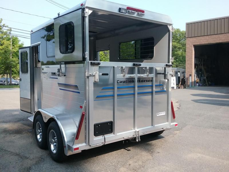 2020 Kingston Trailers Inc. Classic Elite Plus Horse Trailer