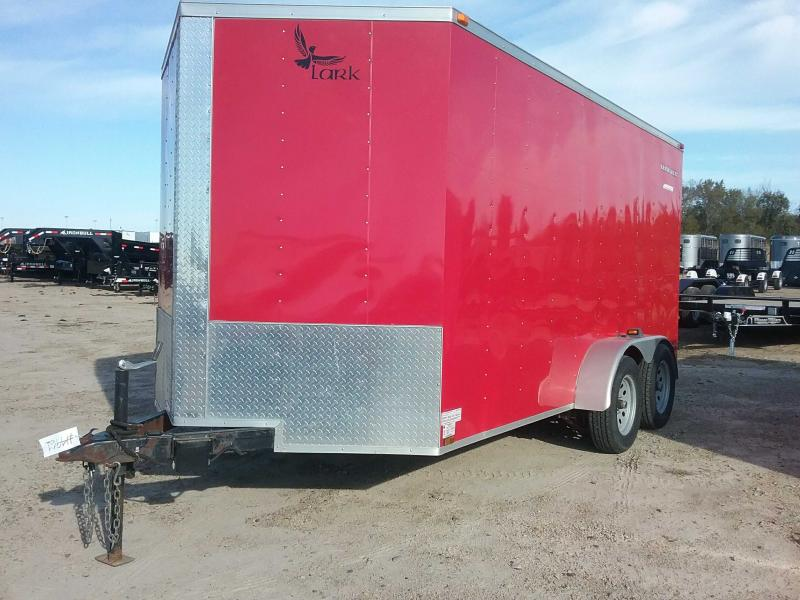 2014 Lark CT7X14TA Enclosed Cargo Trailer