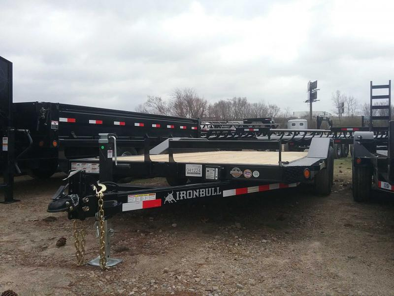 2020 Iron Bull ETB0218052 Equipment Trailer
