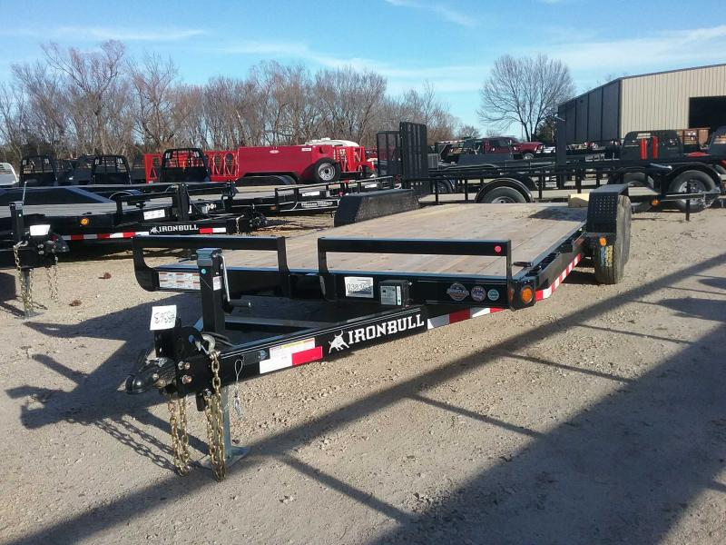 2020 Iron Bull ETB8320052 Equipment Trailer