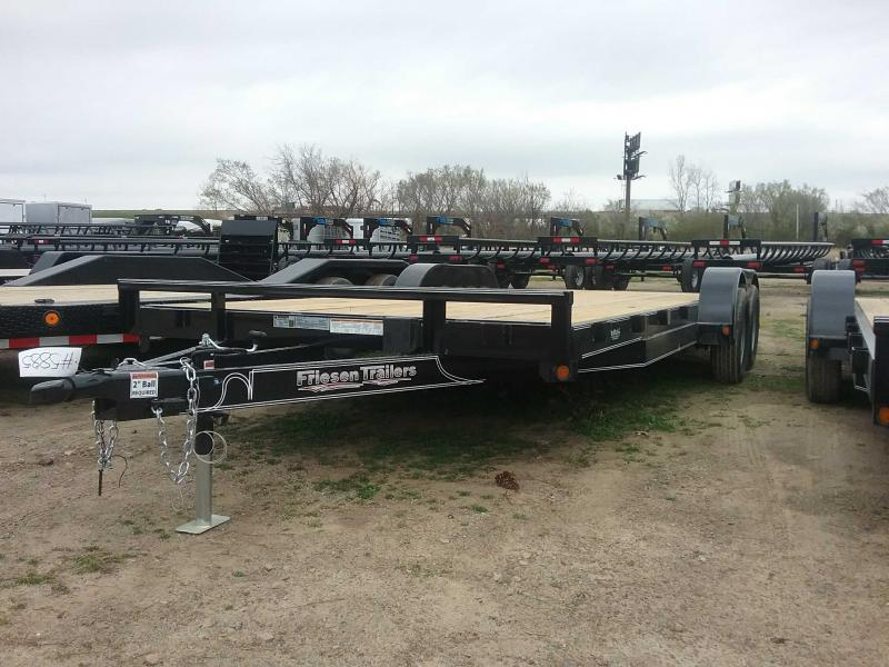 2020 Friesen Trailers CHX78320 Equipment Trailer