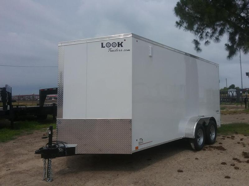 2020 Look Trailers LSCBC7.0X16TE2FF Enclosed Cargo Trailer