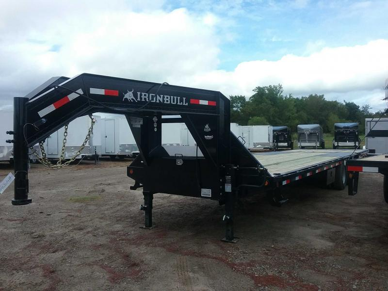 2019 Iron Bull FHG0232122 Flatbed Trailer