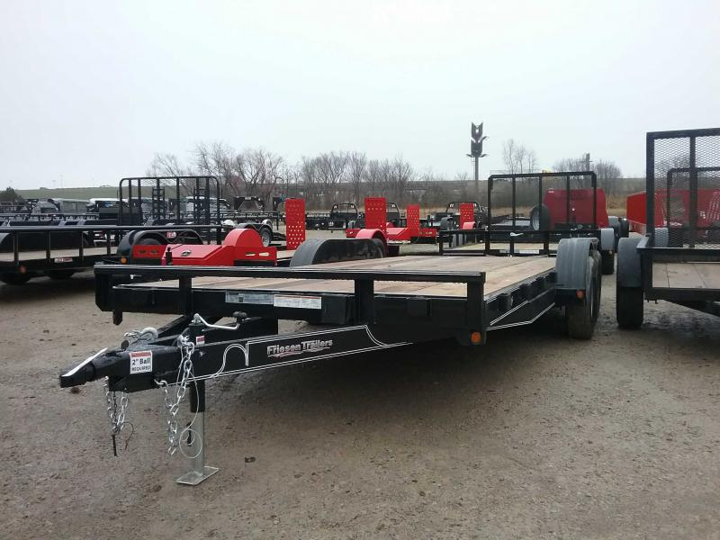2020 Friesen Trailers CHX78318 Equipment Trailer