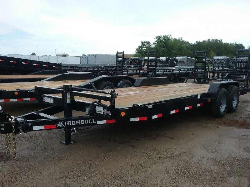 2019 Iron Bull ETB8322072 Equipment Trailer