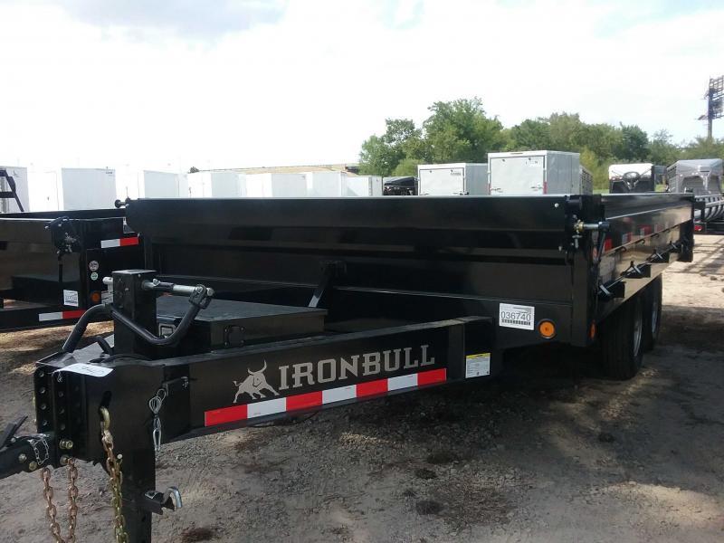 2020 Iron Bull DDP9616072 Dump Trailer