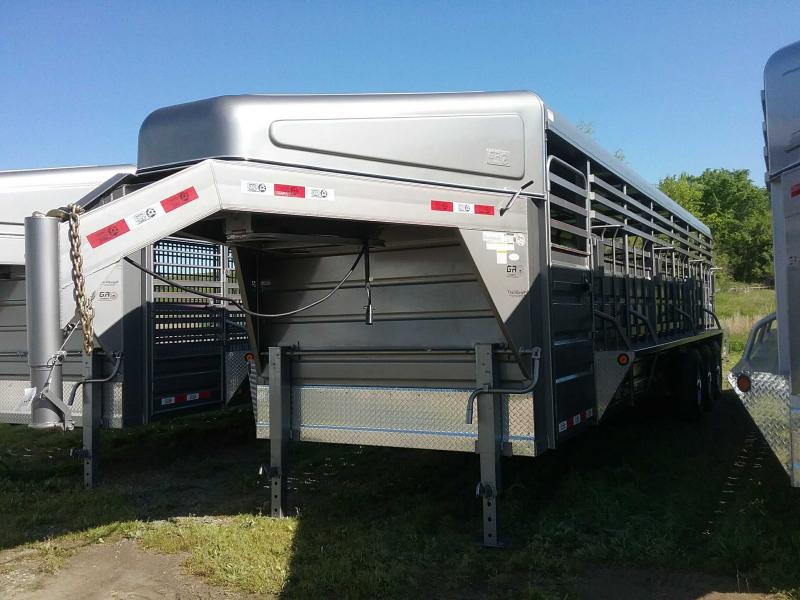 2020 GR Trailers STH6828W20LNRGS Livestock Trailer