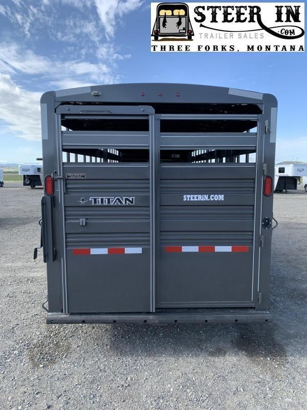 2020 Titan 20' Livestock Trailer