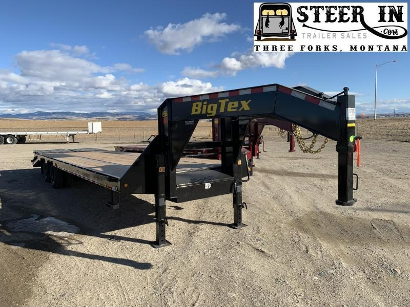 2020 Big Tex 25GN 30' (25+5) Flatbed Trailer