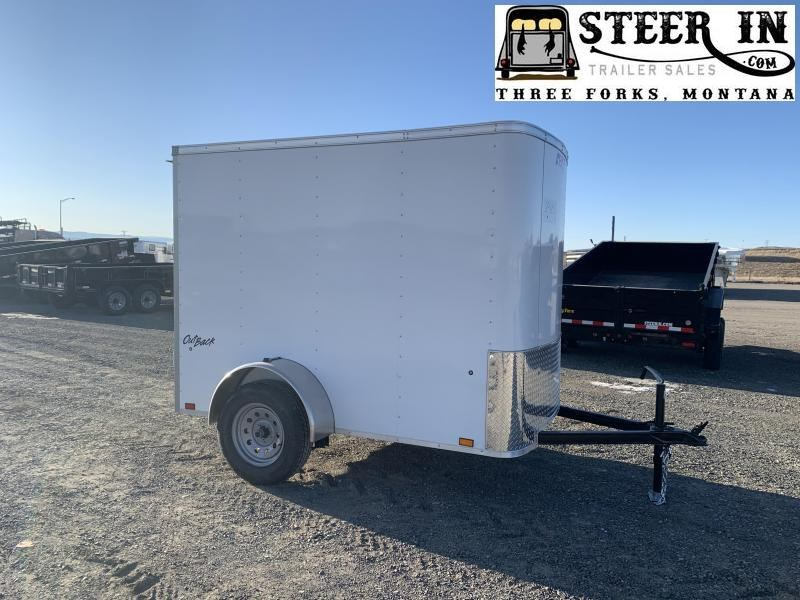 2021 Pace American 5X8' Enclosed Cargo Trailer